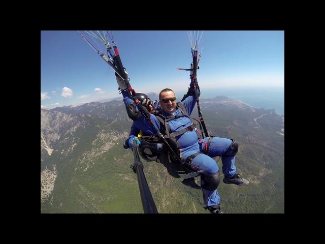 гора Тахталы Олимпоc высотой 2365 метров, тахталы параглайдинг