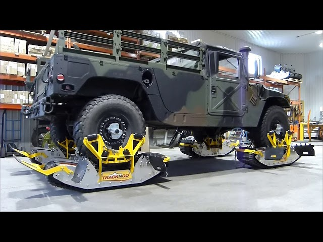 Track N Go millitary humvee vehicle Installation (english)