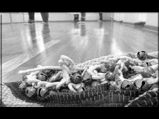 Плетение гунгру (GHUNGROO) для танца КАТХАК. Способ «КОСИЧКА».