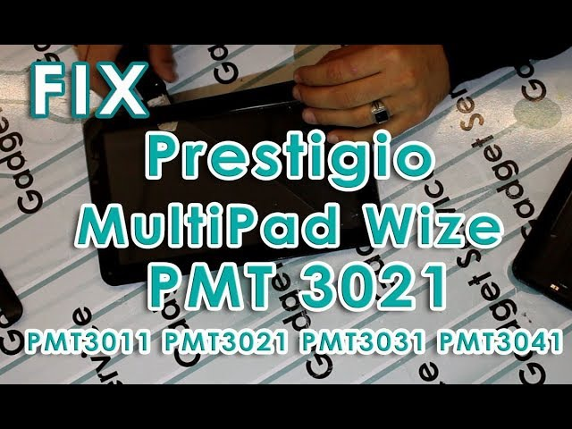 Ремонт планшета Prestigio MultiPad Wize 3021 3G - замена разбитого тачскрина