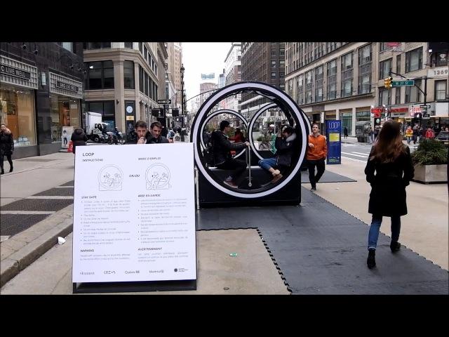 LOOP, An Interactive Art Installment, Comes To Garment District