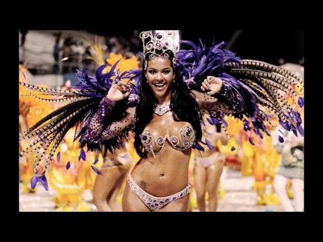 Жгучие бразильские красавицы с карнавала в Рио де Жанейро.