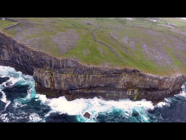 THE ARAN ISLANDS BY DRONE (IRELAND)- Dún Aonghasa- Inis Mór