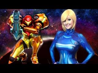Samus Aran (Metroid): The Story You Never Knew Amiibo Hunting in latex Cosplay