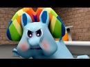 Радужный Пудинг в качалке Мои цветные пони 3