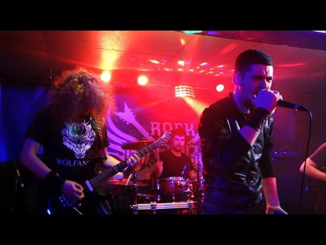 Wolfanger Into Oblivion Live at Barvy club Kiev 03 02 2018
