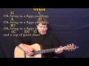 We Wish You a Merry Christmas - Strum Guitar Cover Lesson in G with Chords/Lyrics