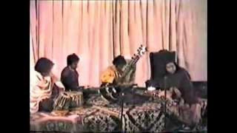 Debu Chaudhuri Sitar Tabla (Raga Raaga Music Concert) Shri Mataji Delhi 1983 (Sahaja Yoga) p1