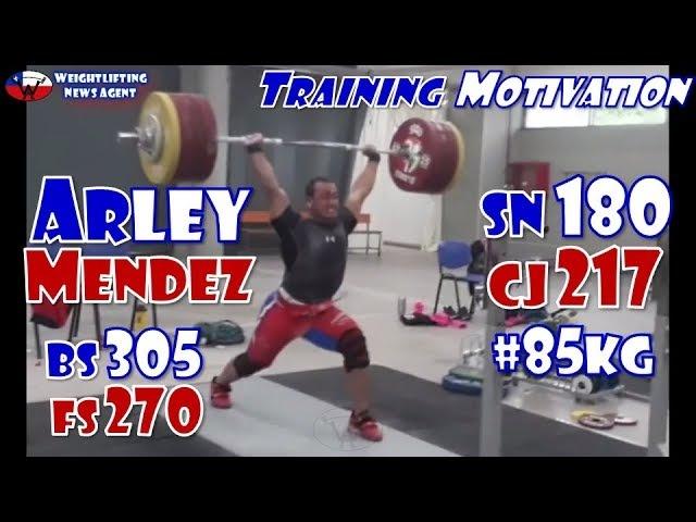 Arley Mendez (CHL, 85KG) | Olympic Weightlifting Training | Motivation