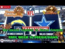 Los Angeles Chargers vs. Dallas Cowboys | #NFL WEEK 12 | Predictions Madden 18