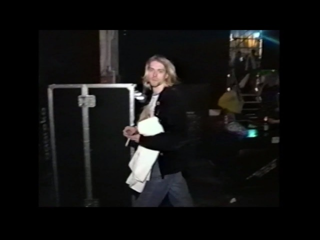 Nirvana (post-show footage) - December 13th, 1993, Pier 48 (MTV Live and Loud), Seattle, WA