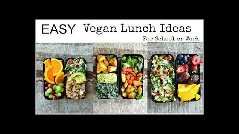 Easy Vegan Lunch Ideas (Bento Box)