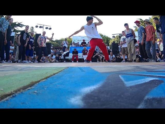ChiefRockerz vs Hot Tribe (Yalta Summer Jam 2017 selection crew)