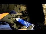 Замена передних тормозных колодок на Mitsubishi ASX Мицубиси АСХ 1,8 2013 года