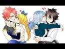 Nalu and Gruvia AMV - I DO ♥ Fairy tail