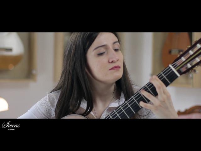 Gvaneta Betaneli plays Etude No. 8 by Heitor Villa-Lobos on a 2010 Fritz Ober (SpruceMaple)