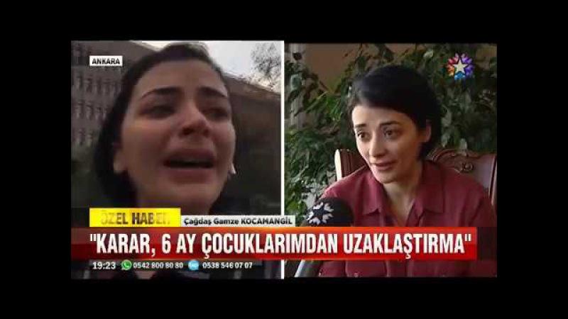 2 Çocuğu elinden alınan genç kadının Kadına Adalet Yok isyanı