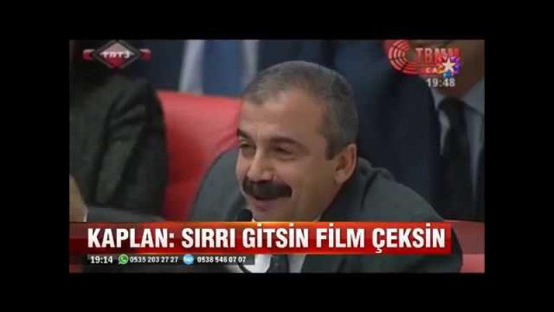 Hasip Kaplan Türk Göz Dikmesin mesajı attı HDPde çadır karıştı