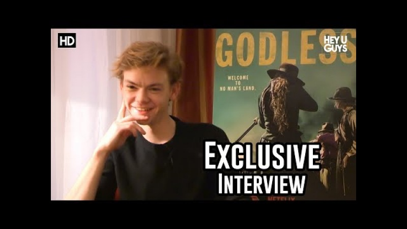 Thomas Brodie Sangster talks Godless The Maze Runner Game of Thrones Star Wars