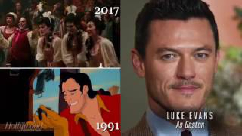 Сравнение Мультфильм и фильм Красавица и чудовище Голоса и персонажи 1991 vs 2017