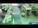 Производство плёночного тёплого пола видео с заводского цеха