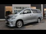 Король минивенов Toyota VellFireAlphard Hybrid из Японии. Встречаем в Омске.