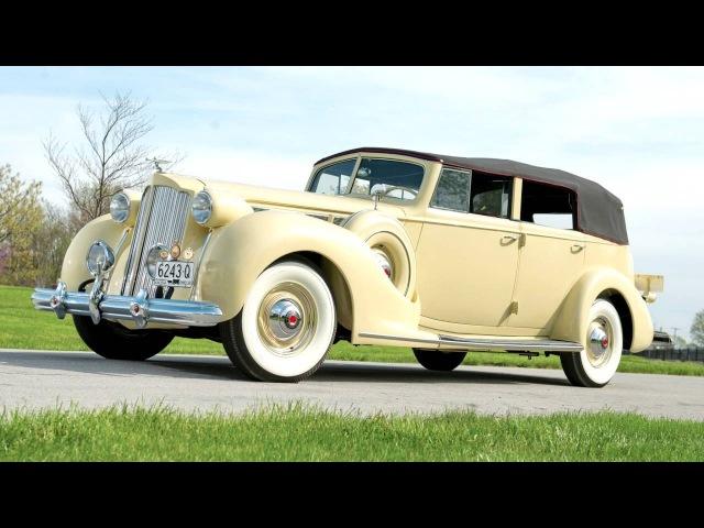 Packard Super Eight Convertible Sedan 1605 1143 '09 1938 1937–38