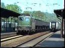 Als die Bahn noch in Grün fuhr