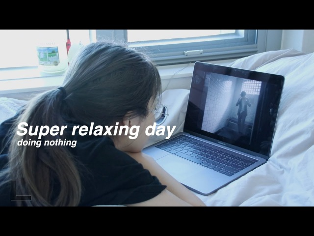 ENG) 자취일기 아무것도 안 하고 푹 쉬는 날 Super relaxing day doing nothing