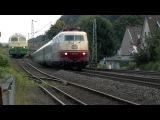 The legend rolls again! german class 103 - Stars der Schiene 103 235 u.a. vor dem Innsbrucker IC