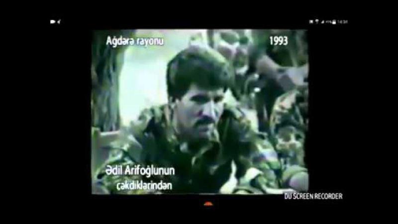 Soyuq səngəri rahat kreslosundan üstün tutan İcra başçısı Ədalət bəy (1993-ci il Agdərə)