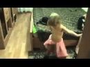 танец живота маленькой девочки