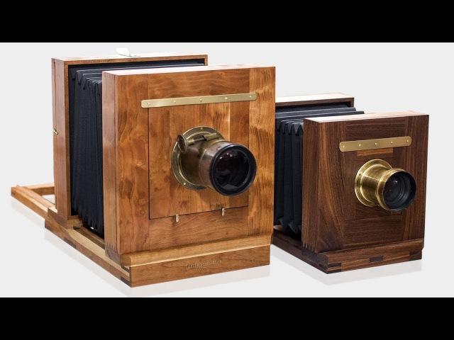 Making a Camera Handcrafted Woodworking