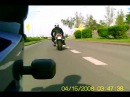 Spy cam mini DV 80 MD test Camera Honda CBR 929 Wheelie not D005 CBR 900