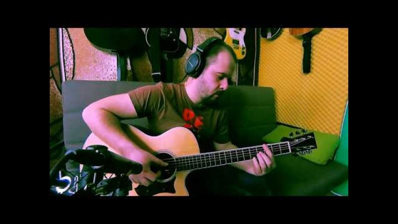 Гуде вітер вельми в полі (українська народна пісня на гітарі / Fingerstyle UA)