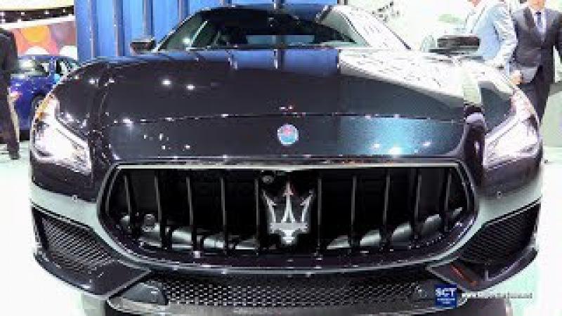 2018 Maserati Quattroporte GTS Gran Sport - Exterior and Interior Walkaround - 2017 LA Auto Show