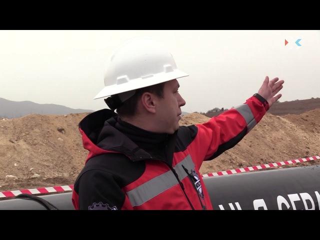 К декабрю в Севастополе построят кольцевой газопровод