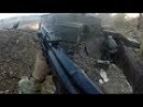Ukraine War - Helmet Cam Firefight: Combat Footage In Ukrainian Trenches