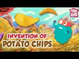 INVENTION OF POTATO CHIPS - The Dr. Binocs Show Best Learning Videos For Kids Peekaboo Kidz