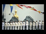 Russia shows off the world's largest submarine during Navy Day parade in Saint Petersburg