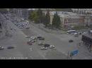 ДТП на перекрестке Красного проспекта и Гоголя