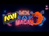 NaVi vs TnC RU (bo1) MDL Macau Lan Minor 09.12.2017