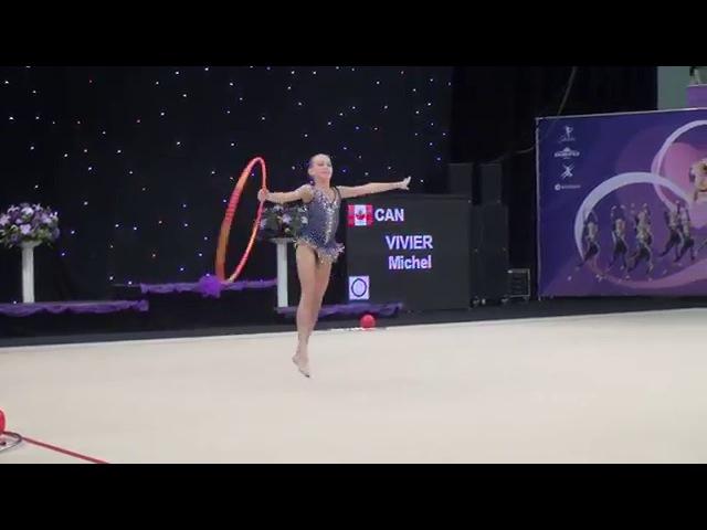 Vivier Michel (CAN) - Hoop ♡ Miss Valentine 2016 | RG Pre Junior 2004, 2005 | 1. Round