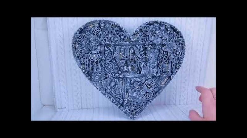 Видео обзор Mix Media панно Настоящая любовь
