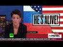 Американская паранойя: ведущая MSNBC обвиняет Россию во вмешательстве в дела стра ...