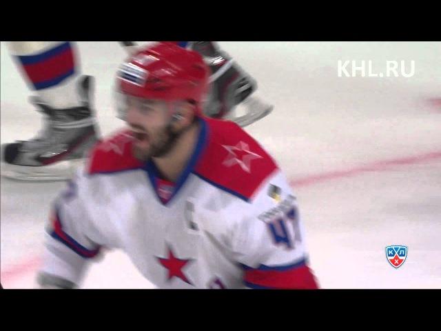 15.10.2012 Первый гол Марченко в КХЛ