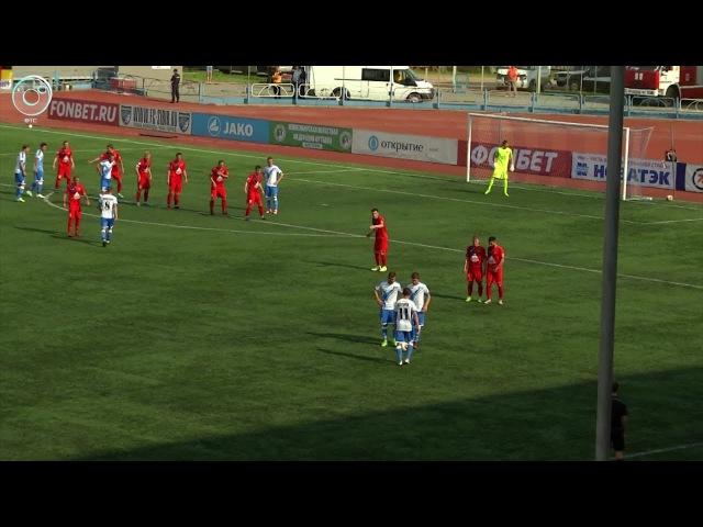 Футболисты Сибири провели очередной матч в рамках Первенства ФНЛ
