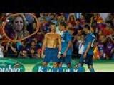 Нереальные Реакции Шакиры на Голы Роналду 2017 HD