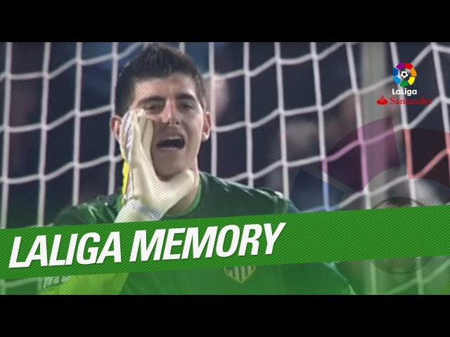 LaLiga Memory Thibaut Courtois Best Saves