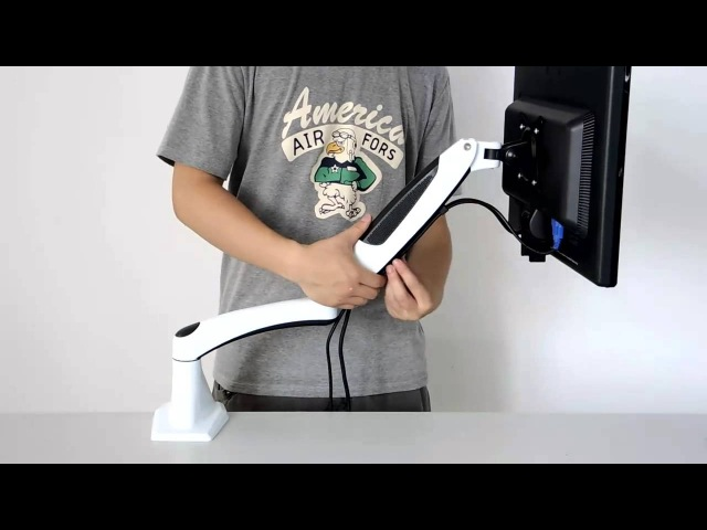 Gas Spring LCD Monitor Desk Mount--VM-GM112F